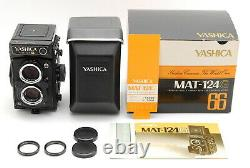 A- Mint in Box Yashica MAT-124G 6x6 Medium Format TLR Camera From JAPAN 6487
