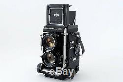 AS-ISMamiya C330 Pro TLR Camera with DS 105mm f/ 3.5 Blue Dot Lens Japan A0377