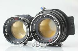 Almost UNUSED Mamiya C330 Pro Body + Sekor DS 105mm f/3.5 Lens Case From Japan