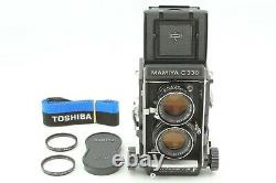 Body MINT Mamiya C330 Pro F TLR Camera with Sekor DS 105mm f/3.5 Blue Dot Japan