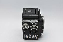 CLA'd NEAR MINT in Case Yashica Yashicaflex Model B 6x6 TLR Camera From JAPAN