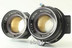 EXC+3 Mamiya C220 Pro 6x6 TLR Film Camera Body + 80mm f2.8 Blue Dot Lens JAPAN
