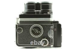 EXC+5 + Case Rollei Tele Rolleiflex TLR Camera Body Sonnar 135mm f4 Lens JAPAN