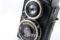 EXC 5 Voigtlander Superb 6x6 120 TLR Camera 75mm f3.5 Skopar lens From japan