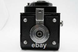 EXC+5 with Case Yashica D 6x6 TLR Film Camera 80mm f/3.5 Lens From Japan