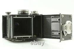 EXC+5 withCase Rollei Tele Rolleiflex TLR Camera Body Sonnar 135mm f4 Lens JAPAN