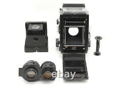 EXC+++++Mamiya C330 TLR Film Camera SEKOR 105mm f/3.5 Blue Dot From JAPAN