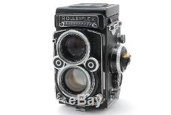 Exc+3 Works Rolleiflex 2.8F TLR Film Camera Planar 80mm Lens from JAPAN 0784H