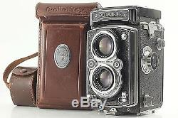 Exc+5 ROLLEIFLEX MX TLR Camera + Xenar 75mm f3.5 from JAPAN #118