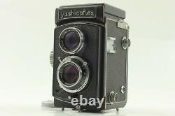 Exc+5 Yashicaflex A TLR Medium Format Film Camera 80mm F/3.5 From JAPAN