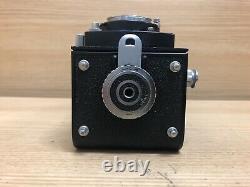 Exc+5 with Case Ricoh Ricohflex New DIA 80mm F/3.5 TLR Medium Format Camera JPN