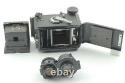 Exc+5Mamiya C330 Pro S TLR Film Camera 105mm f3.5 DS Blue dot Lens From Japan