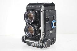 Exc+++++ MAMIYA C330 Pro F Body DS 105mm f/3.5 Blue Dot Lens TLR Camera FromJP