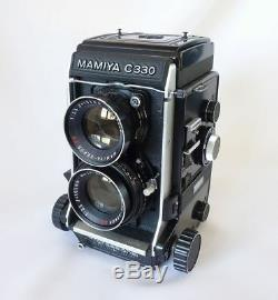 Exc++++ MAMIYA C330 Professional SEKOR DS 105mm f/3.5 New Seals from Japan