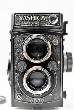 Exc+++++ Meter Works Yashica Mat-124G 6x6 Medium Format TLR Camera From JAPAN