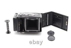 Exc +++++ Minolta Autocord TLR Camera Body with Rokkor 75mm f3.5 From JAPAN 1415