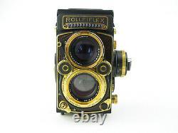 F&H Rolleiflex 2,8 F Aurum 6x6 TLR + Schneider-Kreuznach Xenotar 12,8/80 in Box
