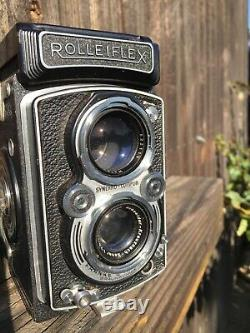 Fully Working Rolleiflex 3.5 Schneider Xenar from 1951 Very Good Condition