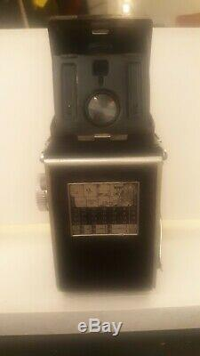 GREAT DEAL Rolleiflex MX EVS TLR Film Camera 1950's, Med format gd cond