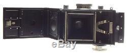 IKOFLEX TLR Novar-Anastigmat 13.5 f=75mm Zeiss Ikon medium format camera cased