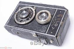 KW PILOT REFLEX TLR 3X4CM 127 ROLL FILM CAMERA With ZEISS 50MM 2.8 TESSAR LENS