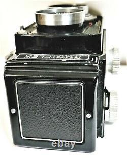 Konica Koniflex 6x6 TLR Film Camera / Hexanon 85mm F3.5 Lens Excellent