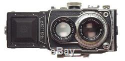 Lipca Rollop Automatic TLR Film Camera Enna Ennit 12.8 f=8cm Coated Lens