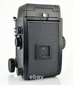 MAMIYA C220 Professional F TLR with SEKOR S 80mm f2.8 Blue Dot Lens Complete Kit