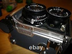MAMIYA C220 Professional TLR mit Sekor Objektiv F=80mm 12,8, F=55mm, F=180mm