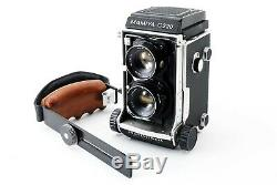 MAMIYA C220 TLR Film Camera with SEKOR 80mm f3.7 Lens EXC++510429