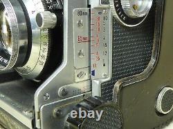 MAMIYA C3 Professional TLR SEKOR 80mm f2.8 Lens Complete Kit + case + strap +cap