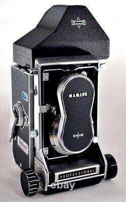 MAMIYA C33 TLR MEDIUM FORMAT FILM CAMERA 105mm f3.5 LENS CASE ACCESSORIES Photo