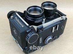 MAMIYA C330 PROFESSIONAL + SEKOR DS 105mm F3.5 LENS TLR BLUE DOT FILM CAMERA
