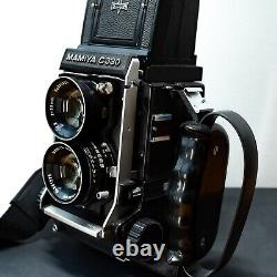 MAMIYA C330 Professional 80mm f4.5 TLR (REPLACED SHUTTER UNIT & SERVICED)