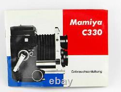 MAMIYA C330 Professional TLR 6x6 mit Mamiya-Sekor 12.8 f=80mm + Anleitung