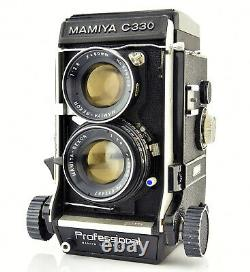 MAMIYA C330 Professional TLR with SEKOR 80mm f2.8 Lens Complete Kit