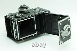 MINT IN CASE ROLLEI ROLLEIFLEX 3.5F TLR BODY With PLANAR 75mm F3.5 FROM JAPAN