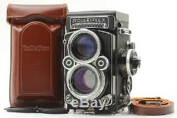 MINT In CASE + Strap Rolleiflex 2.8F White Face Xenotar 80mm F2.8 From JAPAN