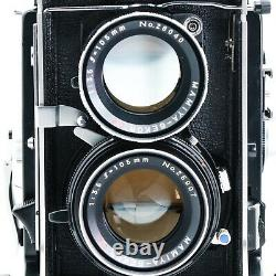 MINT Mamiya C330 Pro f with105mm f3.5 Lens Blue Dot Professional TLR Film Camera