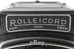 MINT Rolleicord V 6x6 TLR 120 Camera with Xenar 75mm from JAPAN by FedEx A167N