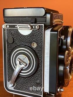 MINT Rolleiflex 3.5F + Schneider Kreuznach 75mm f/3.5 Xenotar Lens