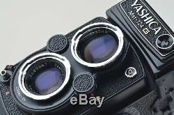 MINT- YASHICA MAT-124G 66 TLR with80mm f3.5 withCASE, STRAP, MANUAL, BOXED, WOW