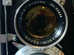 Mamiya C3 professional TLR medium format film camera
