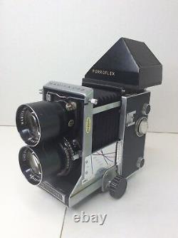 Mamiya C33 TLR Camera LOT Porroflex Seikosha S Sekor 135 MM Lens Medium Format