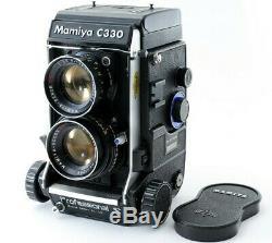 Mamiya C330 Pro S C330S Film Camera withSekor DS 105mm f/3.5 Blue Dot Lens Japan