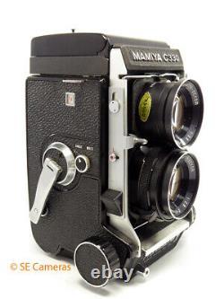 Mamiya C330 Professional F Tlr Camera & Sekor 80mm F2.8 Blue Dot Lens