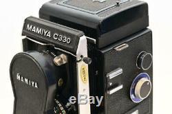 Mamiya C330 Professional f c/w blue dot 80mm F2.8 lens C330f NR. MINT CONDITION