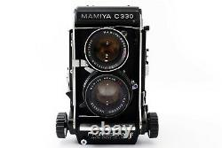Mamiya C330 Professional f w 13.5 105mm Blue Dot Lens (MINT) F/S Japan #535116
