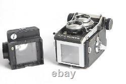 Mamiya C330 TLR Professiona mit CDS Lupensucher mit Sekor 2,8/80 Lens, Blue Dot