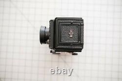 Mamiya C330 twin-lens reflex camera + 80mm f/2.8 Blue Dot Lens 294